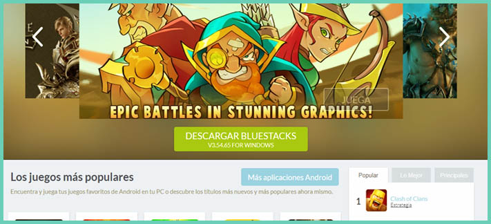 Descargar BlueStacks para PC