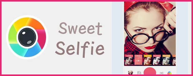 Sweet Selfie - Alternativas para Candy Camera